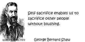 sekf-sacrifice_bernard_shaw